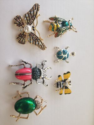 Decorative brooches / pins for Sale in Las Vegas, NV