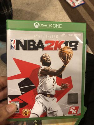 NBA 2k18 Xbox one for Sale in Odenton, MD