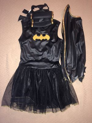 Halloween girls batgirl costume ( size M , runs small) for Sale in Arlington, VA