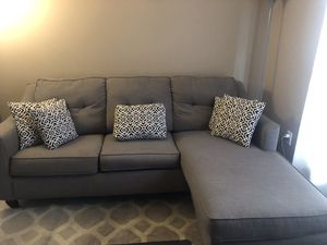 Sectional with ottoman for Sale in Palm Harbor, FL
