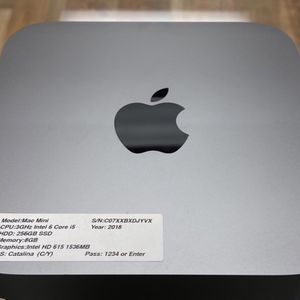 Apple Mac Mini- 3Ghz Intel 6 Core i5- 256GB SSD- 8GB RAM for Sale in Los Angeles, CA