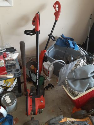 Tools and toolbox and weed eater, hedge hog for Sale in Nicholasville, KY