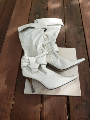 Off White Women's Boots - Size 8.5 for Sale in Fort Worth, TX