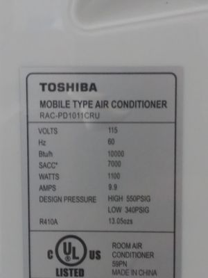 Toshiba portable A/C unit and dehumidifier for Sale in Denver, CO