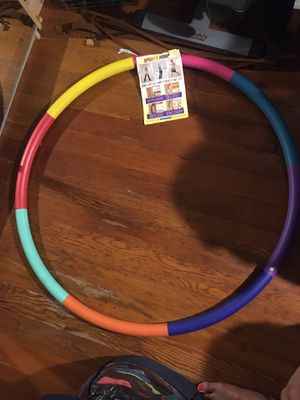 Weighted hula hoop for Sale in San Diego, CA