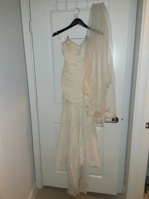 Vintage Style Wedding Dress (Alfred Angelo) for Sale in Kyle, TX