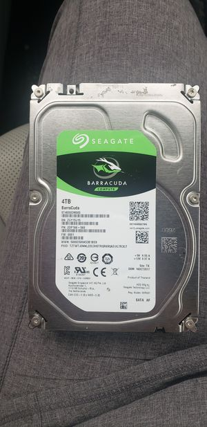 4TB Seagate hard drive for Sale in Greer, SC