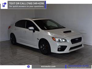 2017 Subaru WRX for Sale in Escondido, CA