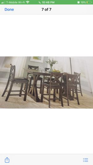 7 pc Kitchen Table for Sale in Greensboro, NC