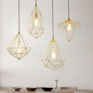 (2) Geometric Pendant Lights for Sale in Washington, DC