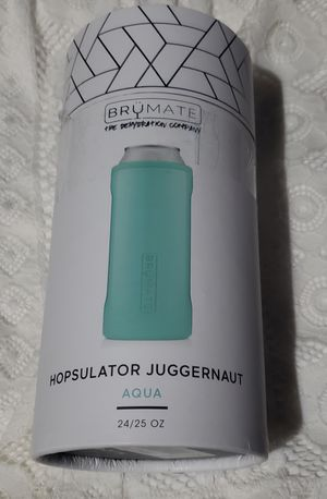 NEW Brumate Hopsulator Slim Can Cooler Tumbler 12 oz Drink Holder Aqua for Sale in Navarre, OH