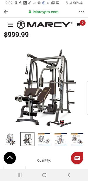 Marcy Gym Set!! Need gone asap $700 or best offer for Sale in Corpus Christi, TX