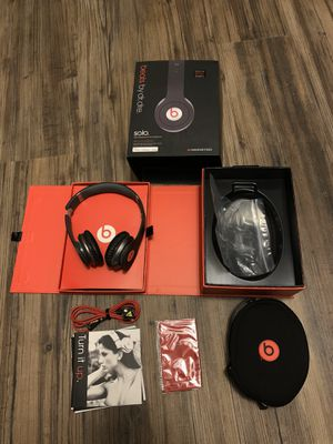 Beats By Dre Solo Wired Headphones for Sale in Indian Head, MD