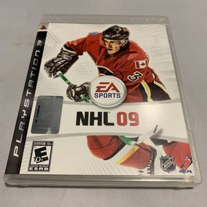 NHL 09 For PlayStation 3 PS3 Complete CIB Video Game for Sale in Camp Hill, PA