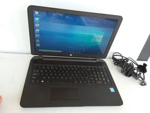 Hp 15 notebook pc 2.16ghz 4GB memory 500GB Hard drive Windows 10 for Sale in Belle Isle, FL