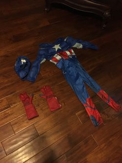Halloween Costume Captain America for Sale in Modesto,  CA