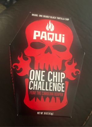 Paqui Carolina Reaper Madness One Chip for Sale in March Air Reserve Base, CA