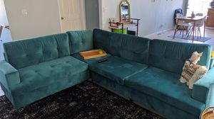 Blue Sofa / Sectional Couch for Sale in Oakland, CA