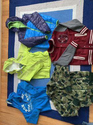 Lot of 6 LLBean, GAP, Converse boys Jacket, Rain coat, Hoodies for Sale in Vienna, VA