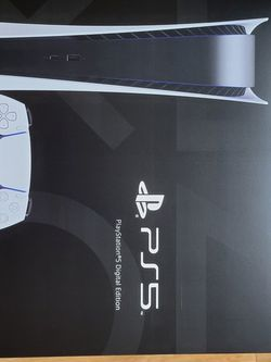 Brand New PlayStation 5 DIGITAL VIDEO GAME Console for Sale in Westerville,  OH