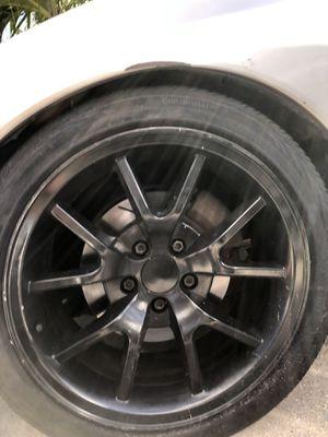 FR500 wheels mustang corvette for Sale in Pompano Beach, FL