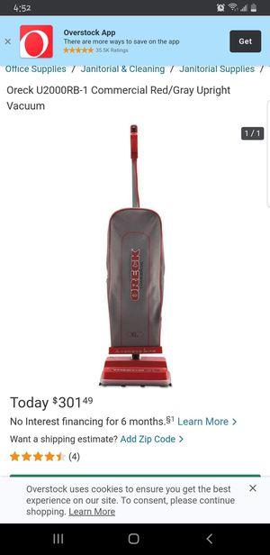 Oreck commercial vacuum for Sale in El Paso, TX