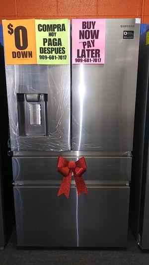 Samsung 4 Door Refrigerators ⭐️APPLIANCES IN PAYMENTS⭐️ ❌NO CREDIT NEEDED❌❕$0 Downpayment❕✅Matrícula & Itin OK ✅ for Sale in San Bernardino, CA