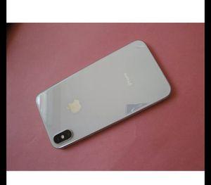 Apple iPhone X 64gb silver white sprint clean imei for Sale in Corona, CA