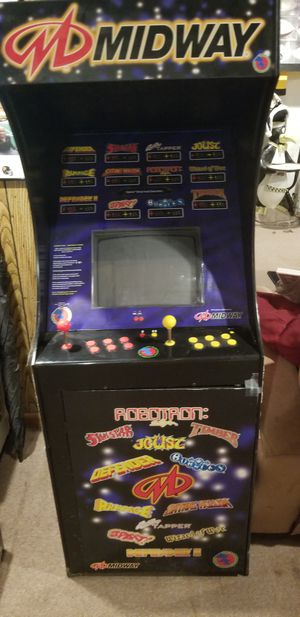 Midway video arcade game for Sale in West Mifflin, PA
