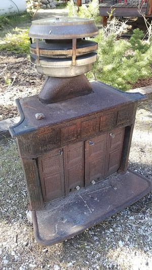 Wood Stove, Old and Gnarly but Solid for Sale in Leavenworth, WA