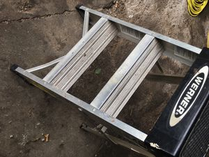 Werner aluminum step ladder for Sale in Columbus, OH