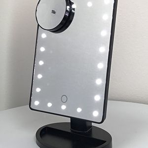 "Brand New $15 each 11x6.5"" LED Vanity Makeup Mirorr Touch Screen Dimming w/ 10x Magnifying for Sale in Whittier, CA"