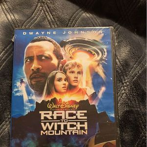 Disney race to witch mountain Dwayne Johnson the rock dvd movie for Sale in Oregon City, OR