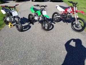 3 Brothers Package Small Medium Large Pit Dirt Bikes for Sale in Hudson, MA