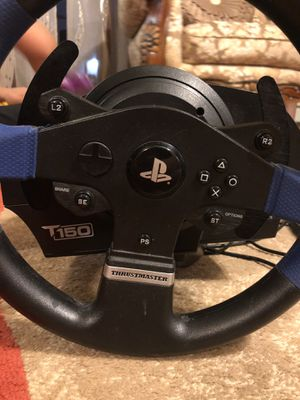 T150 thrustmaster for PS4 and ps3 for Sale for sale  Sayreville, NJ
