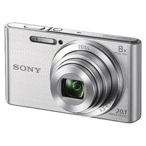 Sony Cybershot DSCW830 20.1MP Digital Camera with Camera Case and 8GB Memory Card - Silver for Sale in Lucas, TX