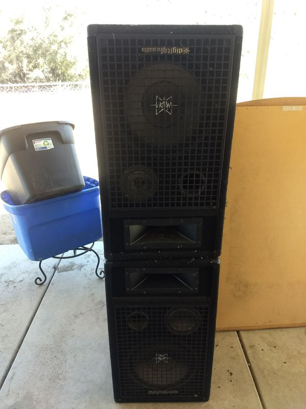 Speakers digital pro audio