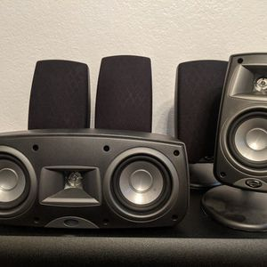 "Denon Receiver And Full Klipsch Surround With 10"" Sub for Sale in Lynnwood, WA"