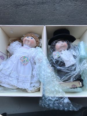 Cabbage patch kids porcelain collection (wedding set) for Sale in San Luis Obispo, CA