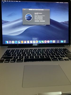"""MacBook Pro 15"""" Retina i7/16/256gb with Microsoft office 2016 for Sale in Syracuse, NY"""