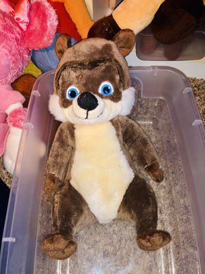 Over the Hedge plush doll toy - RJ - Bruce Willis voiced this character in movie for Sale in Phoenix, AZ