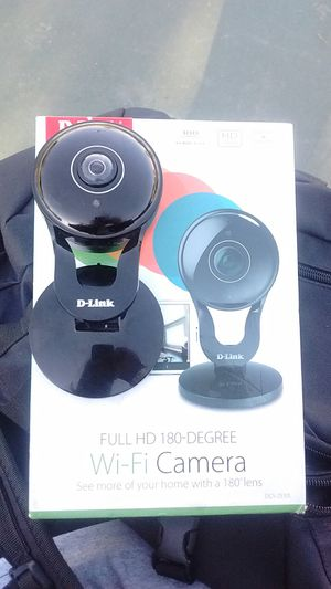 D link full HD 180degrees WiFi camera for Sale in San Jacinto, CA