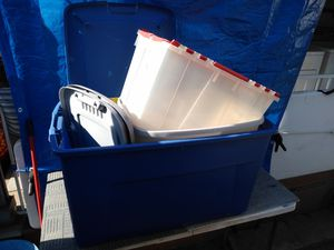 Storage containers $15 for all for Sale in Anaheim, CA