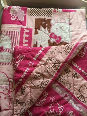 Hello kitty comforter for Sale in Tigard, OR