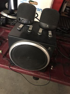 Logitech computer speakers for Sale in Long Beach, CA