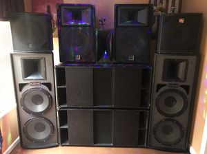 I have so much PRO AUDIO EQUIPMENTS FOR SALE, you just let me know what you want, NO LOW BALLERS for Sale in Castle Rock, CO