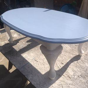 Chalk Painted Coffee Table for Sale in Visalia, CA