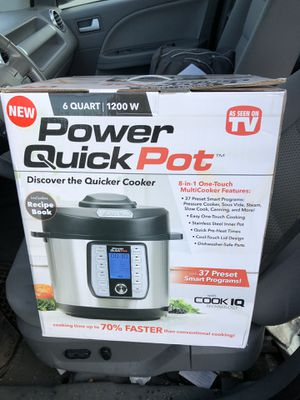 Power Quick Pot 6 quart for Sale in Cheverly, MD