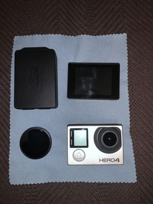 GoPro Hero 4 w/ Accessories for Sale in Plainfield, IL
