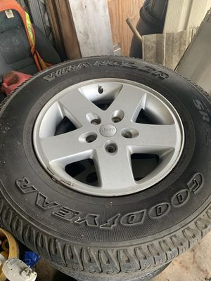 Jeep wrangler wheels for Sale in Lake Alfred, FL